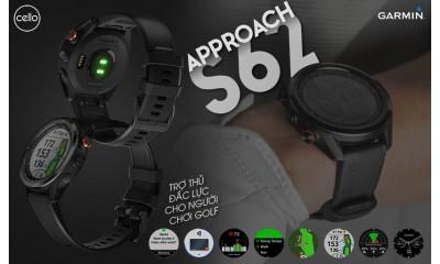 Hướng dẫn cơ bản cách sử dụng đồng hồ Garmin Approach S62
