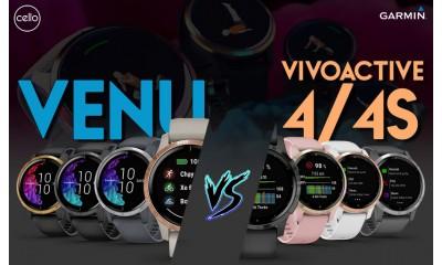 So sánh đồng hồ Garmin Vivoactive 4/4s và Garmin Venu
