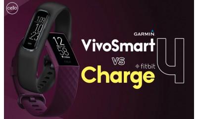 Garmin Vivosmart 4 vs Fitbit Charge 4. Đâu là sản phẩm dành cho bạn ?