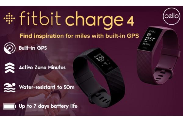 Fitbit Charge 4 – Thiết bị chăm sóc sức khỏe tuyệt vời