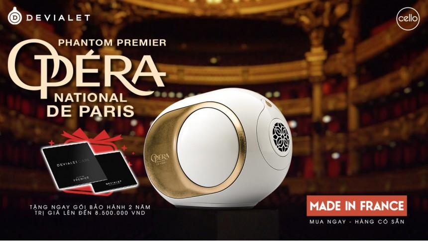 Devialet Phantom Premier Opera de Paris