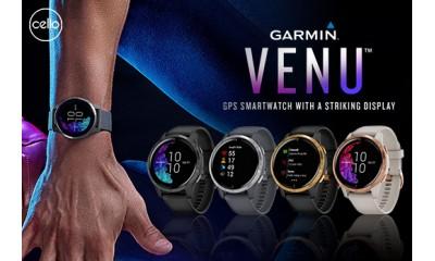 Đồng hồ Garmin Venu – Chiếc đồng hồ có màn hình đẹp nhất của Garmin