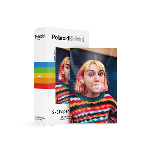 Giấy In Ảnh Polaroid Hi-Print 2x3 - 20 Tờ