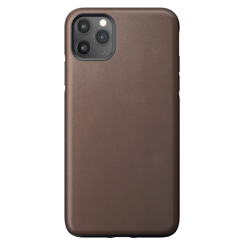 iPhone 11 Pro Max Nomad Leather Rugged Case