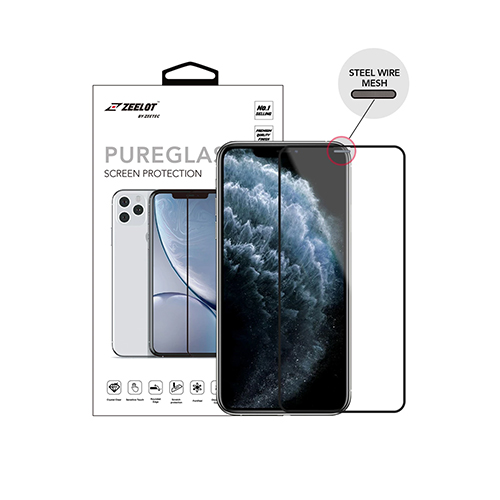 iPhone 11 Pro Zeelot SteelWire Anti-Glare PureGlass 2.5D