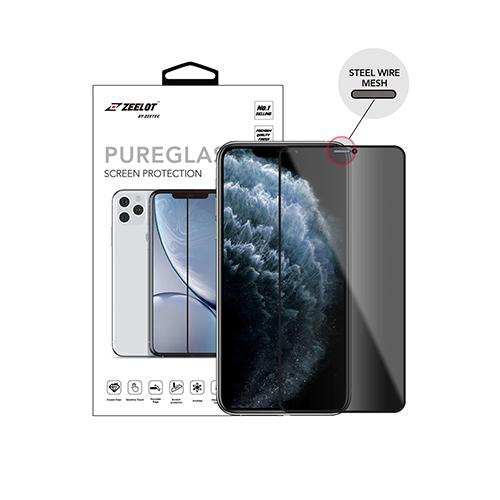 iPhone 11 Zeelot SteelWire Privacy PureGlass 2.5D