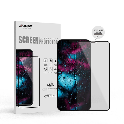 iPhone 12 Pro Max Zeelot Entire View SteelWire Privacy PureGlass