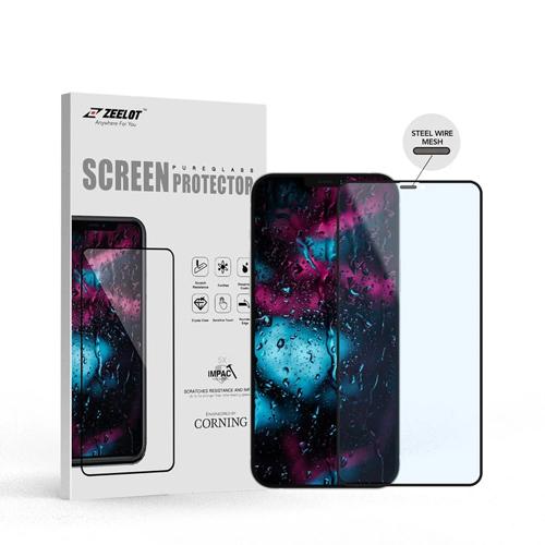 iPhone 12 / 12 Pro Zeelot Entire View SteelWire Anti-Blue-Ray PureGlass