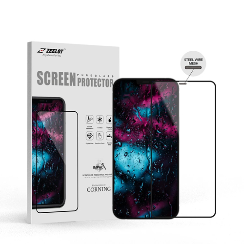 iPhone 12 / 12 Pro Zeelot Entire View SteelWire HD Clear PureGlass