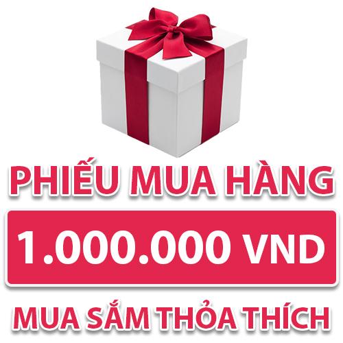 Phiếu Mua Hàng 1.000.000 VND