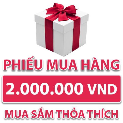 Phiếu Mua Hàng 2.000.000 VND